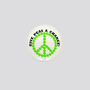 Give Peas A Chance Mini Button