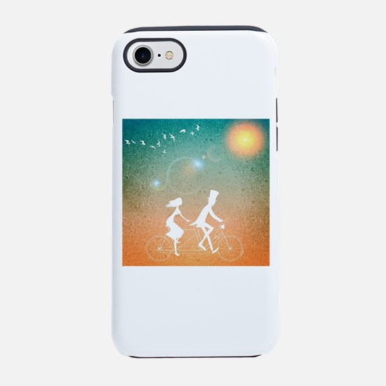 Bicycle Couple iPhone 8/7 Tough Case