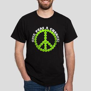 Give Peas A Chance Dark T-Shirt