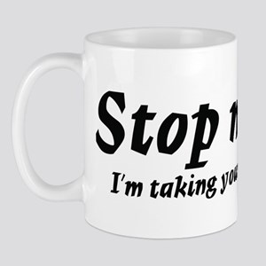 Taking measurments Mug