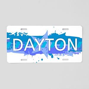 Dayton Design Aluminum License Plate