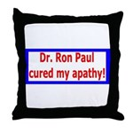 Ron Paul cure-4 Throw Pillow