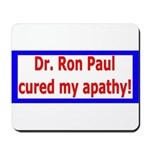 Ron Paul cure-4 Mousepad