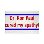 Ron Paul cure-4 Rectangle Magnet