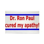 Ron Paul cure-4 Rectangle Magnet (100 pack)