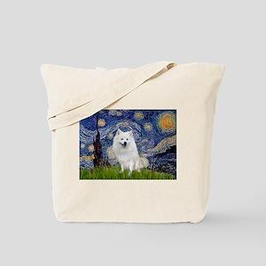 Starry-Am. Eskimo Dog Tote Bag