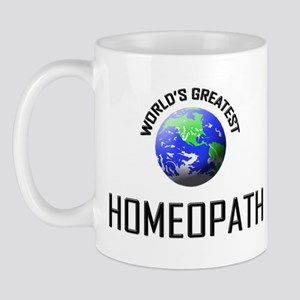 World's Greatest HOMEOPATH Mug