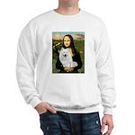 MonaLisa-AmEskimoDog Sweatshirt