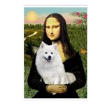 MonaLisa-AmEskimoDog Postcards (Package of 8)