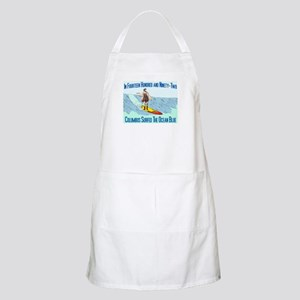 columbus surfed 2 BBQ Apron