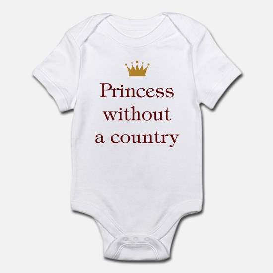 Princess Without Country Infant Bodysuit
