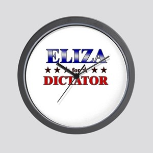 ELIZA for dictator Wall Clock