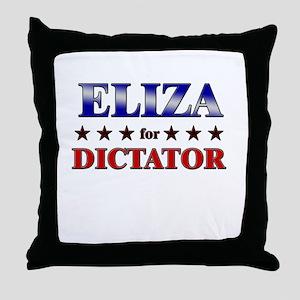 ELIZA for dictator Throw Pillow