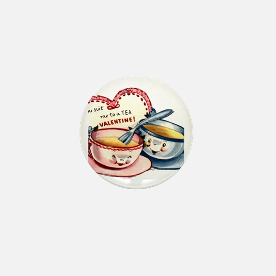 Cute Tea cup Mini Button