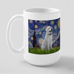 Starry-AnatolianShep1 Large Mug
