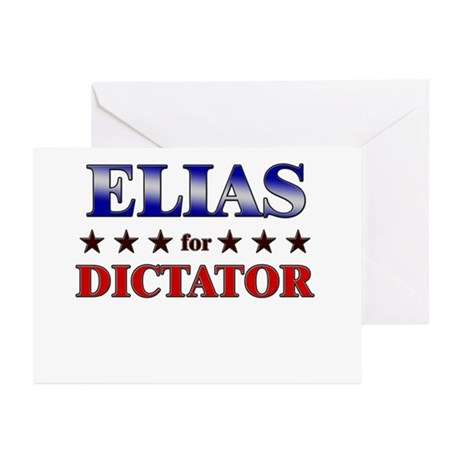 ELIAS for dictator Greeting Cards (Pk of 20)