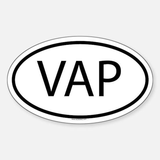 VAP Oval Decal