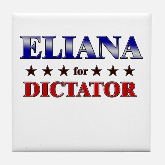 ELIANA for dictator Tile Coaster