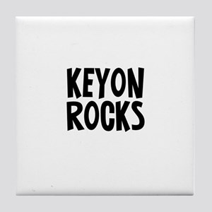 Keyon Rocks Tile Coaster