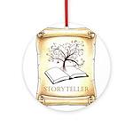 Storyteller Round Ornament