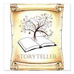 Storyteller Square Car Magnet 3