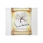 Storyteller Throw Blanket