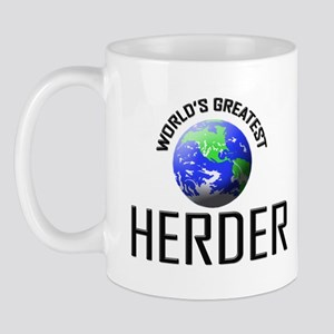 World's Greatest HERDER Mug