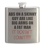 Abs on a skinny guy Flask