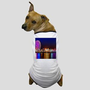 Fair at Night Dog T-Shirt