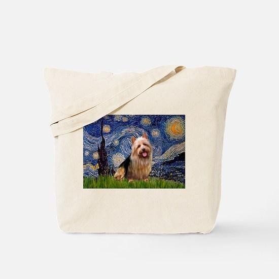 Starry-AussieTerrier Tote Bag