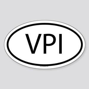 VPI Oval Sticker