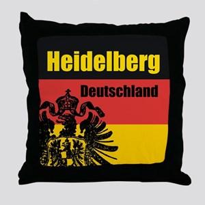 Heidelberg Deutschland Throw Pillow
