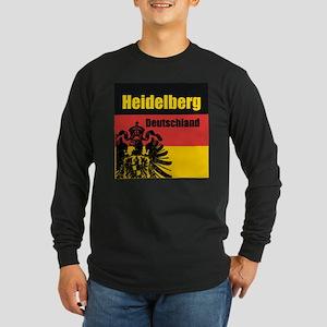 Heidelberg Deutschland Long Sleeve Dark T-Shirt