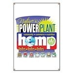 Hemp Power Plant Banner