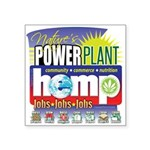 Hemp Power Plant Square Sticker 3