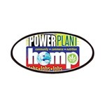 Hemp Power Plant Patch