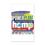 Hemp Power Plant 35x21 Wall Decal