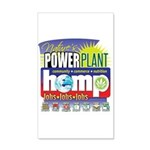 Hemp Power Plant 20x12 Wall Decal