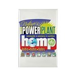 Hemp Power Plant Rectangle Magnet (100 pack)