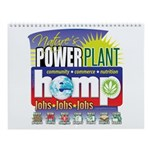 Hemp Power Plant Wall Calendar