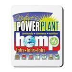 Hemp Power Plant Mousepad
