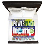 Hemp Power Plant King Duvet