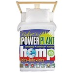 Hemp Power Plant Twin Duvet