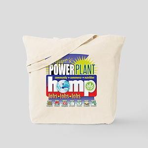 Hemp Power Plant Tote Bag