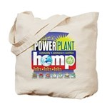 Hemp Power Plant Tote Bag