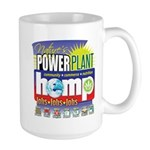 Hemp Power Plant Large Mug