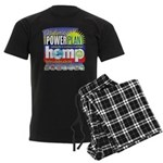 Hemp Power Plant Men's Dark Pajamas