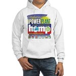 Hemp Power Plant Hooded Sweatshirt