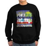 Hemp Power Plant Sweatshirt (dark)