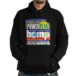 Hemp Power Plant Hoodie (dark)